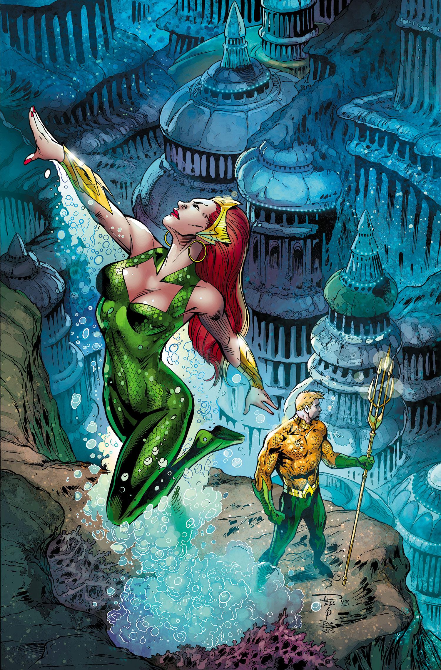 Aquaman and Mera – t...